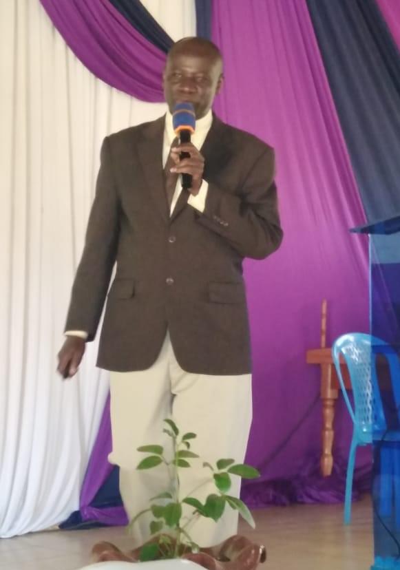 Pr. William Bagambe, Stewardship Ministries Director, ECD.